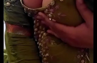 Sexy Desi Indian Babe undressed herself, shaking her nude Boobs for lover on Livecam