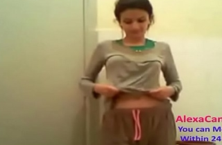 horny Indian desi cute teen gets ready for action part (20)