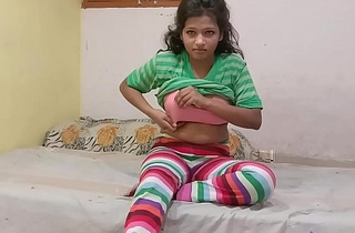 Indian Cousin sister In Jegging Rubbing Her wet Pussy Asking Her Cousin Fellow-creature To Fuck Her
