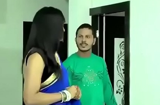 Beautiful Bhabhi in saree doing hot sex with other man