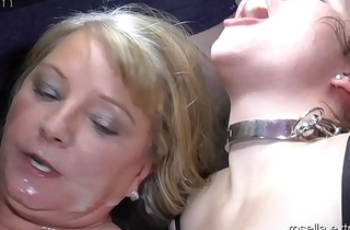Teen unladylike Laura and Mummy Rosella in an obstacle fuck and cum hell! Part 7