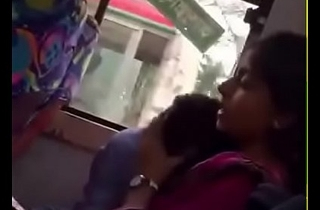 Bangladeshi bf and girlfriend in local Bus