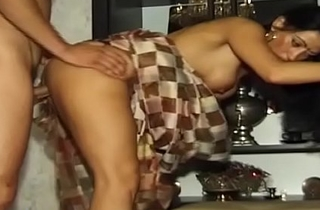 busty indian Milf drilled