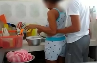Indian Brother Sister fucking in Cookhouse